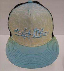 Salt Life Snapback Mesh Trucker Mens Hat Cap